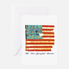 """Star-Spangled Banner"" Greeting Card"