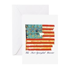 """Star-Spangled Banner"" Greeting Cards (P"