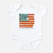 """""""Star-Spangled Banner"""" Infant Bodysuit"""