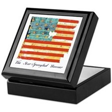 """Star-Spangled Banner"" Keepsake Box"