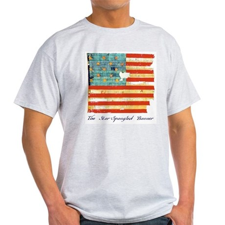 """Star-Spangled Banner"" Light T-Shirt"