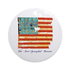 """Star-Spangled Banner"" Ornament (Round)"