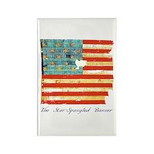 """""""Star-Spangled Banner"""" Rectangle Magnet"""