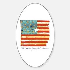 """Star-Spangled Banner"" Oval Decal"