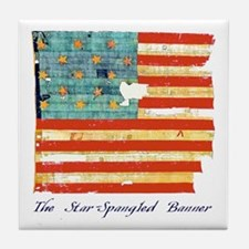 """Star-Spangled Banner"" Tile Coaster"
