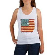 """Star-Spangled Banner"" Women's Tank Top"
