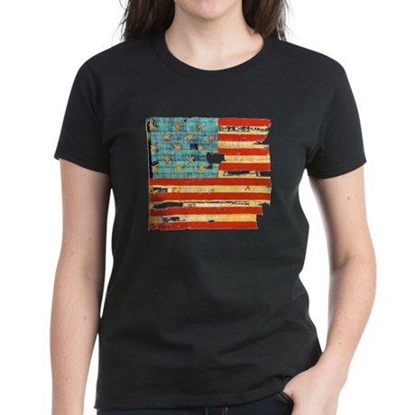 Star-Spangled Banner Women's Dark T-Shirt