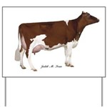 Holstein Cow Yard Sign