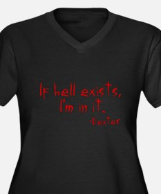 Dexter If Hell Exists Women's Plus Size V-Neck Dar