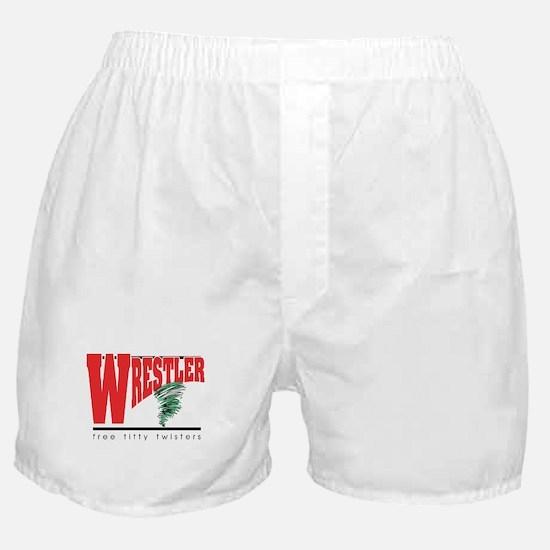 Free Titty Twisters Wrestler Boxer Shorts