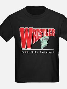 Free Titty Twisters Wrestler T