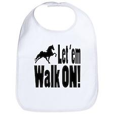 Cute Tennessee walking horse Bib