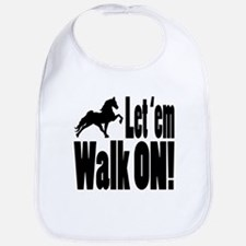 Funny Tennessee walking horses Bib