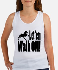 Unique Tennessee walking horse Women's Tank Top