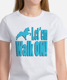 Walk_on_babyblue T-Shirt