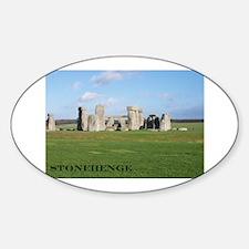 Stonehenge 1 Oval Decal