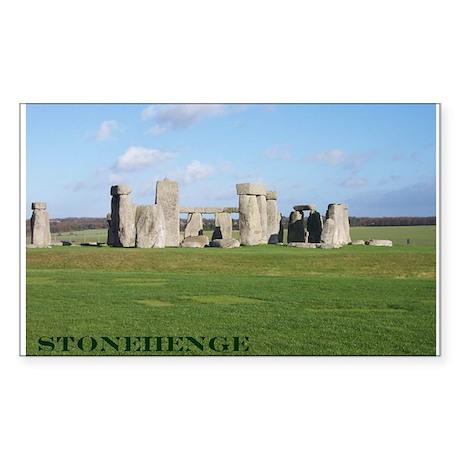 Stonehenge 1 Rectangle Sticker