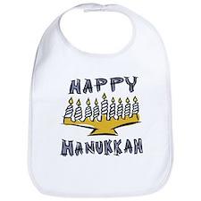 Happy Hanukkah Bib