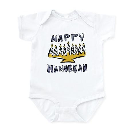 Happy Hanukkah Infant Creeper