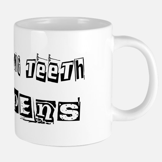 wg119_Cleaning-Teeth.png 20 oz Ceramic Mega Mug