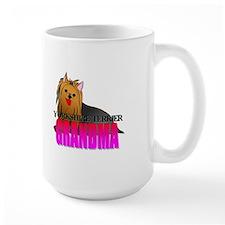 Yorkshire Terrier Grandma Mug