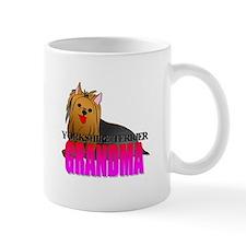 Yorkshire Terrier Grandma Small Mug
