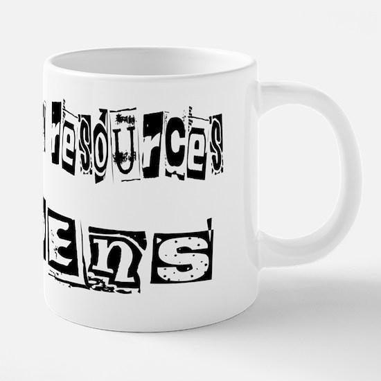 wg216_Doing-Human-Resources 20 oz Ceramic Mega Mug