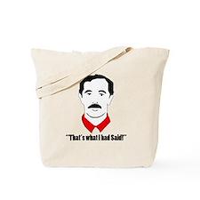 Funny Williams Tote Bag