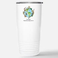 Cute Save our planet Travel Mug