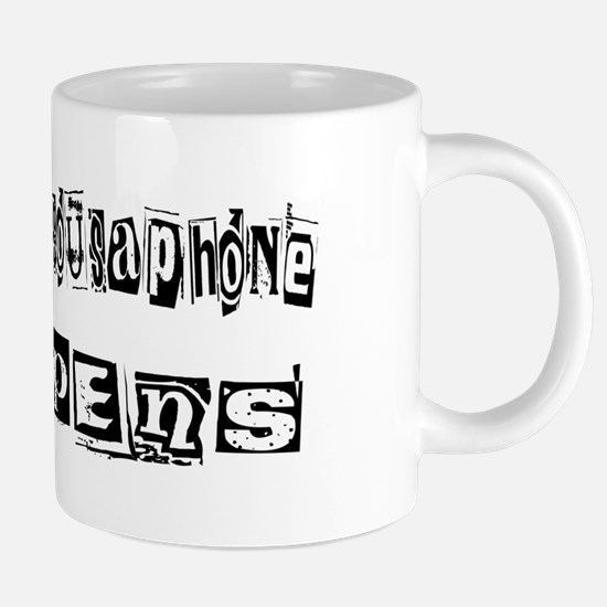 wg408_Playing-Sousaphone.pn 20 oz Ceramic Mega Mug
