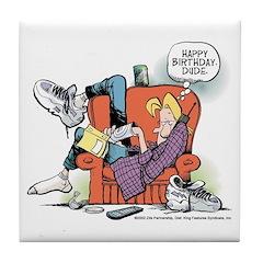 Happy Birthday Jeremy Tile Coaster