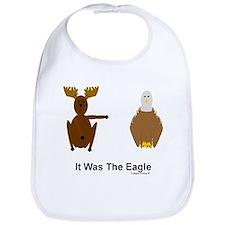 Moose Blames Eagle Bib