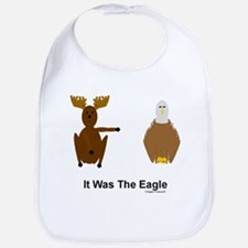 Moose Blames Eagle Bib