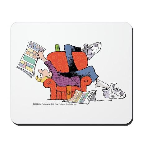 Jeremy Reading Comics Mousepad