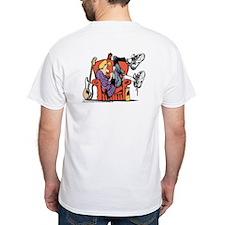 Studious Jeremy White T-Shirt