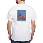 Thoughtful Jeremy Logo White T-Shirt