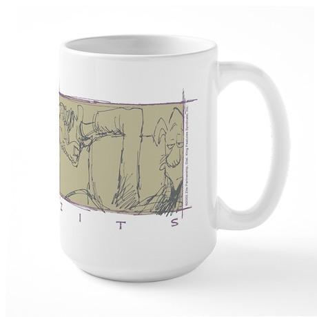 Jeremy Box Logo Large Mug