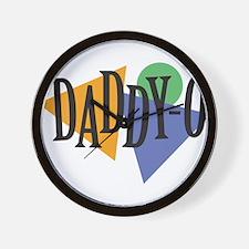 Daddy-O Wall Clock