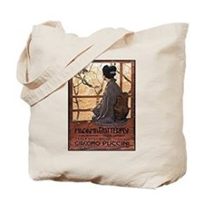 Madama Butterfly Tote Bag