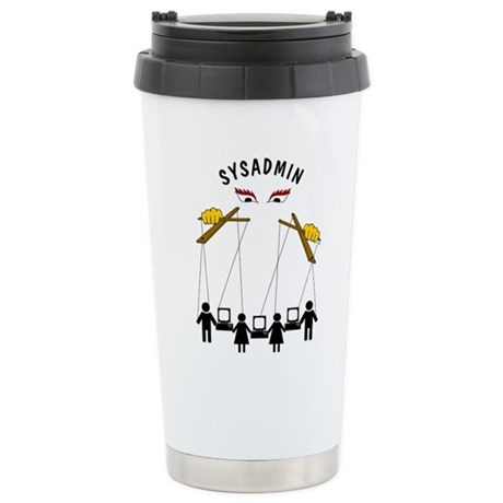 SYSADMIN Stainless Steel Travel Mug