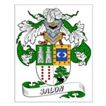 Jalon Coat of Arms Small Poster