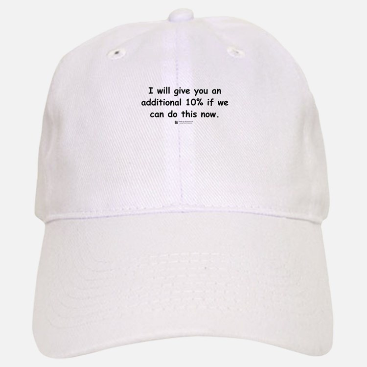 Additional 10% - Baseball Baseball Cap
