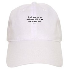 Additional 10% - Baseball Cap