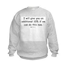 Additional 10% -  Sweatshirt