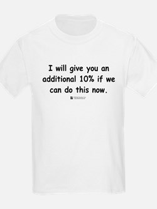 Additional 10% -  Kids T-Shirt