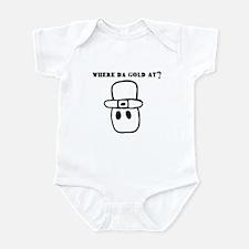 Where Da Gold At? Infant Bodysuit