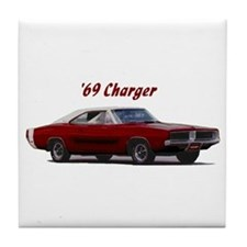 69 Charger Tile Coaster