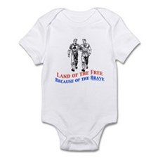 Free because of the Brave Infant Bodysuit