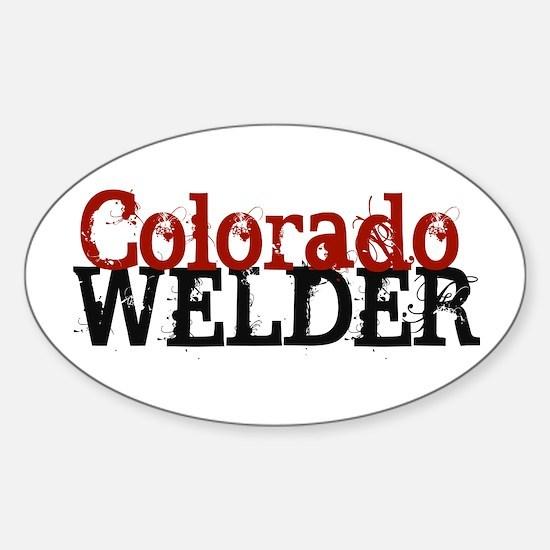 Colorado Welder Oval Decal