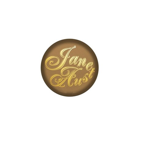 JaneAusten Mini Button